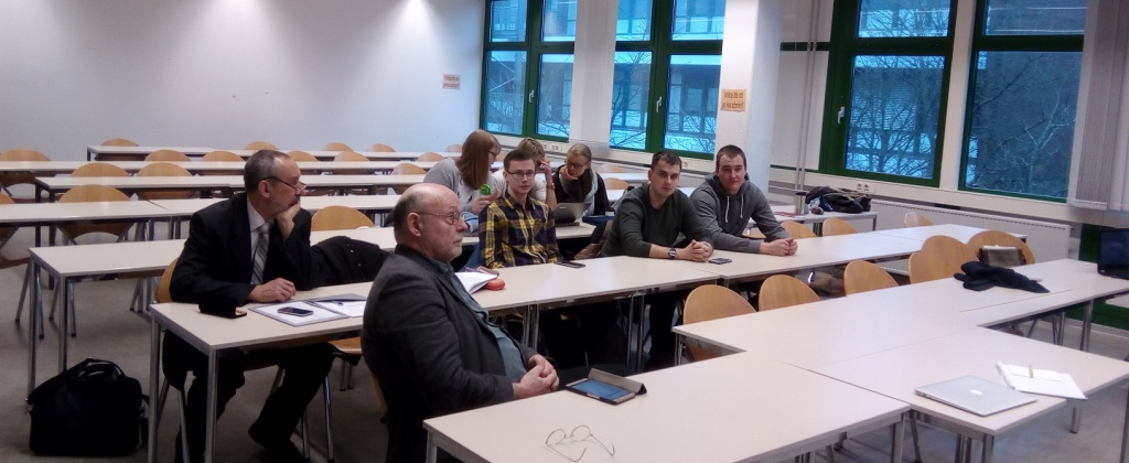 Study tour: PSU delegation visits Flensburg University of Applied Sciences